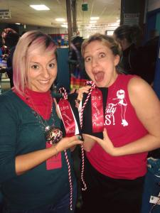 2015 MVP Miss B's duo Betty Ford Cynic (left) and BellaTrixter (right)